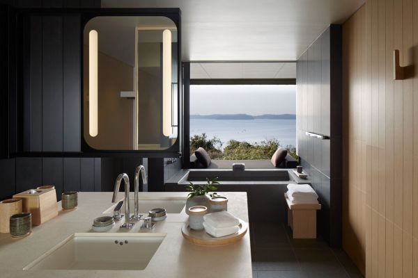 Amannemu. Nagi suite. Bathroom