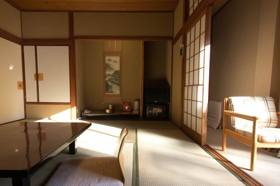 Kami-o-bo ryokan. Arima spa. Clower room