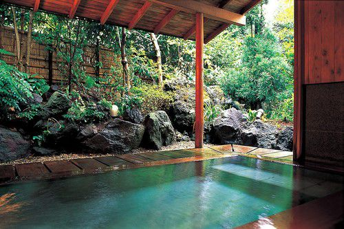 Semi Open-Air Hot Spring