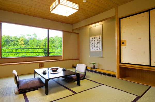 Bed & tatami room 50m2
