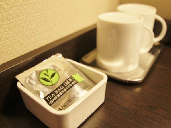 TEA in guestrooms