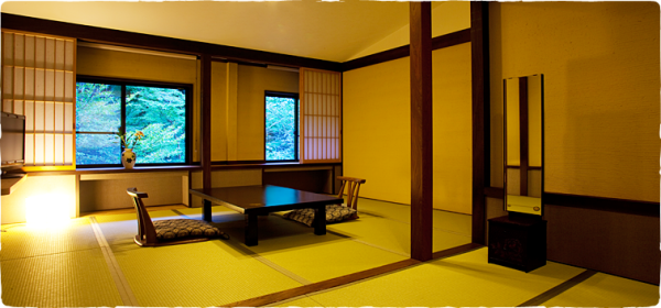 Japanese Style Room with Souun-Zan Forrest