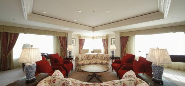 Luxurious presidential suite The Ritz-Carlton