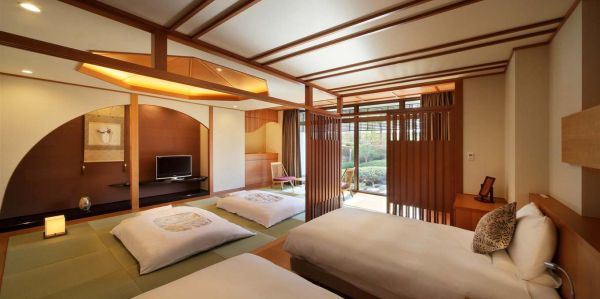 Japanese Suite Room-Sakura (2 Single & 2 Futons)