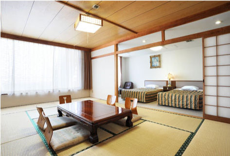 JAPANESE & WESTERN STYLE ROOMS