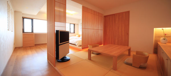 New Japanese-western style room
