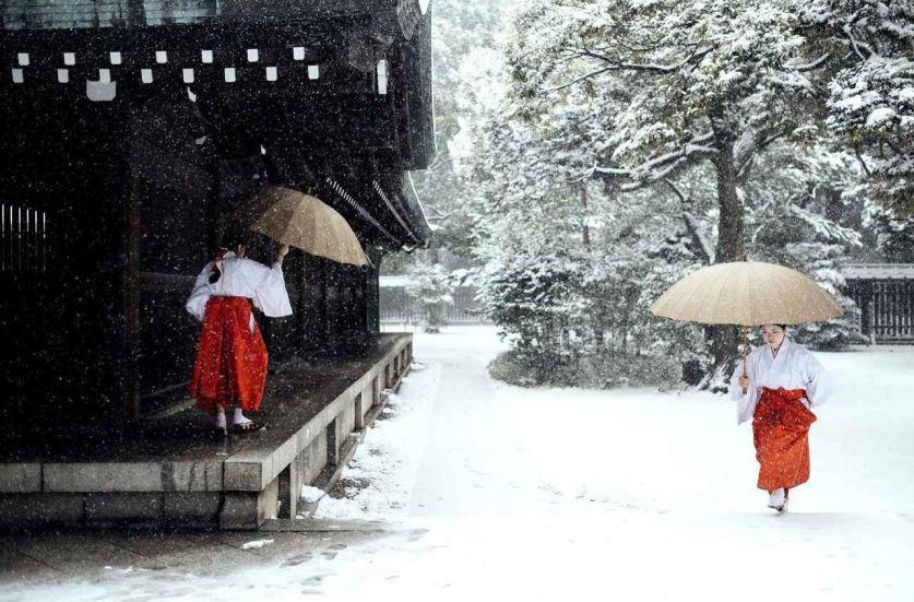Новый год на японском