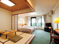 Japanese and Western style room