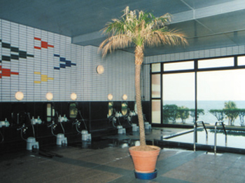 Big bathroom.