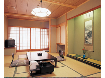 Japanese style room.