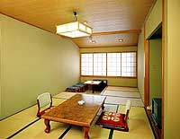 Japanese and western style room.