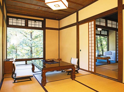 Japanese- style room